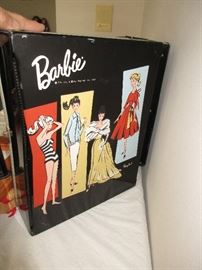 Barbie case and clothing