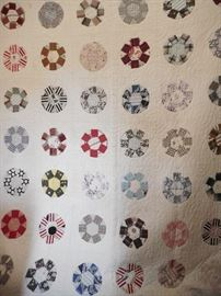 EARLY - ANTIQUE QUILT