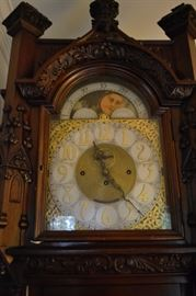Gothic 20th Century Clock by Inspire.  Working condition.