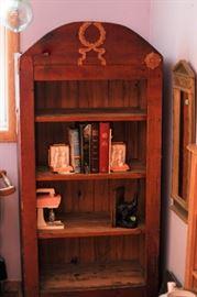 Unusual wood book case