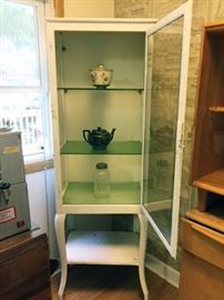 1930's Antique Dental Cabinet