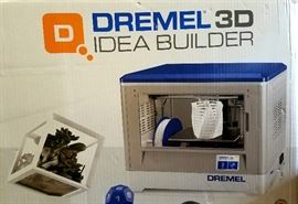 Dremel 3D idea builder. Copies 3 dimensional items