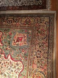"Large room size rug, very colorful. 107""x141""; almost 9x11.5 feet"