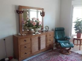 Dresser and Ekrones Chair. we have two.