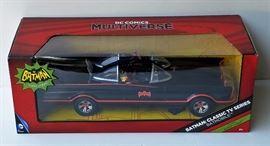 D.C Comics Multiverse 1966 Batman Batmobile