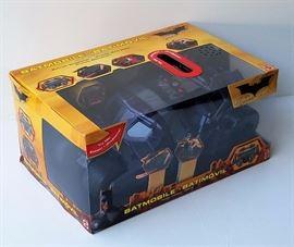 Large Dark Knight Trilogy Mattel Batmobile