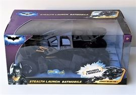 Mattel Dark Knight Trilogy Stealth Launch Batmobile