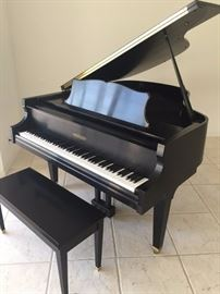 Chickering Parlor Baby Grand