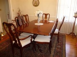Sumter Cabinet Dining Room Table and Chairs