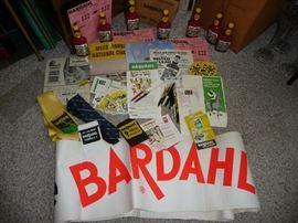 original BARDAHL items from the salesman