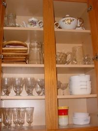 More of the china, crystal, Corning ware, and more
