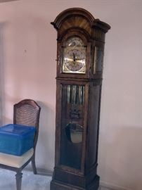 Beautiful Howard Miller Grandfather clock.  Well maintained.  Runs great!