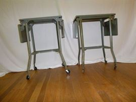 Vintage Typing Stands  http://www.ctonlineauctions.com/detail.asp?id=629362