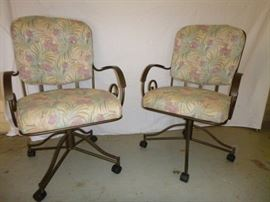 Wrought Iron Patio Chairs  http://www.ctonlineauctions.com/detail.asp?id=629383