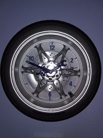 Decorative Wheel Clock