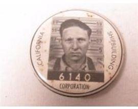 California Ship Building Corporation pin
