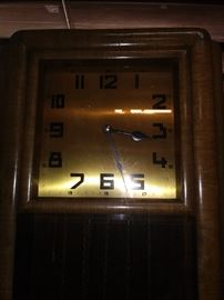 Muller Grandfather clock
