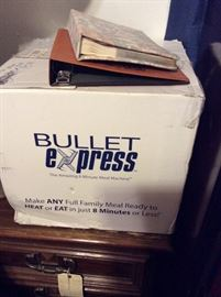 Brand new bullet express machine
