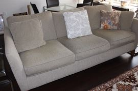 Three seat couch.