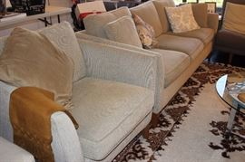 Couch and arm chair.