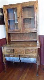 Possum belly cabinet.