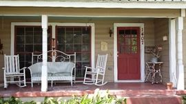 House full of antiques, primitives, collectibles, designer clothes.