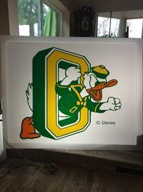 6' x 4' make for university of Oregon