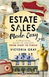 Estate Sales Made Easy - is for everyone!  We will all have to handle a loved one passing or we may scale down.  How do I handle this or how do I scale down?  My book teaches you the who, what, when and how to take care of this tedious task.  Online and at all fine bookstores.