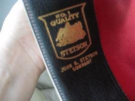 Stetson label