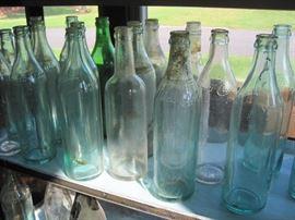Utica Club bottles