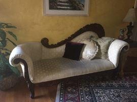 Mahogany Victorian Sofa