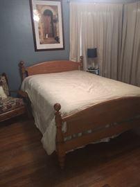 Oak Frame - full size bed