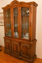 Fruitwood Dining Room Hutch