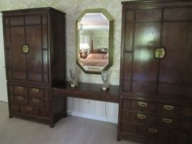 DOUBLE ARMOIRE BY THOMASVILLE MYSTIQUE
