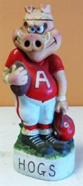 1972 Arkansas Razorback Football Decanter