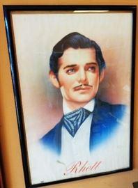 1993 Rhett Butler Poster, Framed