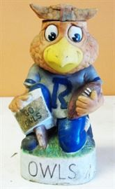 1972 Rice Owls Football Decanter