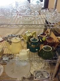 Hall - McCoy teapots