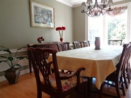 Hitchcook Dining room set