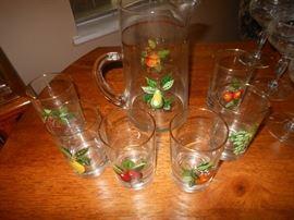 7 piece juice set