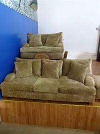 Matching Sofa & Love