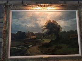 1888 A. Gibbs landscape