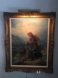 Highland companion by Richard Ansdell