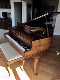 1937  Knabe Baby Grand Piano