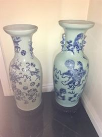 Asian Antique Urns