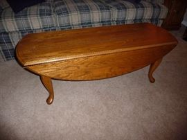 WOOD DROP LEAF COFFEE TABLE