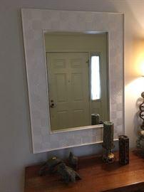 Elegantly framed Mirror