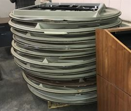 Round Banquet Tables  Sold as a lot