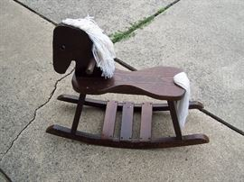 Hand made Rocking Horse