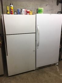 Refrigerator and freezer for sale!
